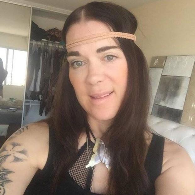 Joanie Laurer em foto postada no dia 17 de abril no Instagram (Foto: Instagram/ Reprodução)