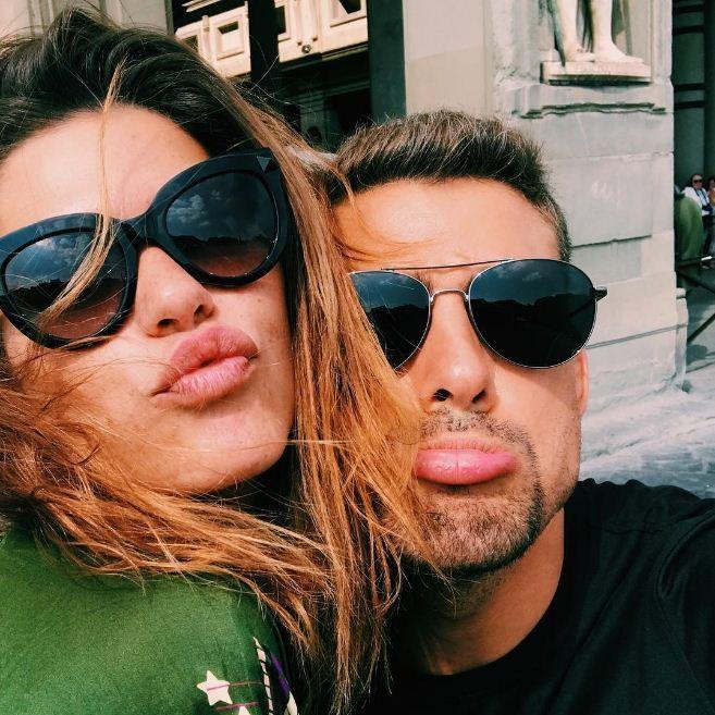 Ah, o amor... Mari Goldfarb e Cauã Reymond aproveitam a Itália (Foto: Reprodução/Instagram)