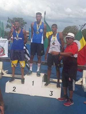 Jordan Rossateli atletismo Osvaldo Cruz (Foto: Jordan Rossateli / Arquivo Pessoal)
