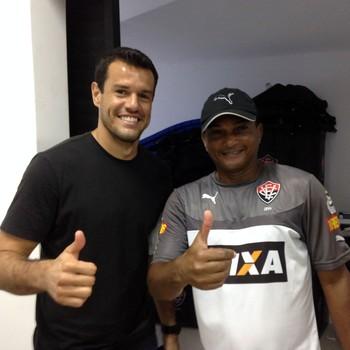 Wilson; Vitória (Foto: Divulgação/EC Vitória)