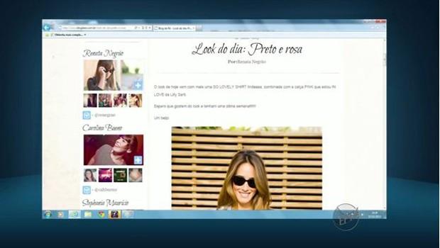 Os blogs podem ser uma boa ferramenta para ganhar dinheiro (Foto: Reprodução EPTV)