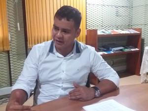 Antônio Teles. secretário de estado do Planejamento (Foto: John Pacheco/G1)