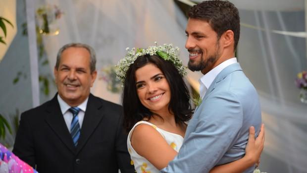 A Regra do Jogo: Tóia e Juliano finalmente se casam (Divulgação)