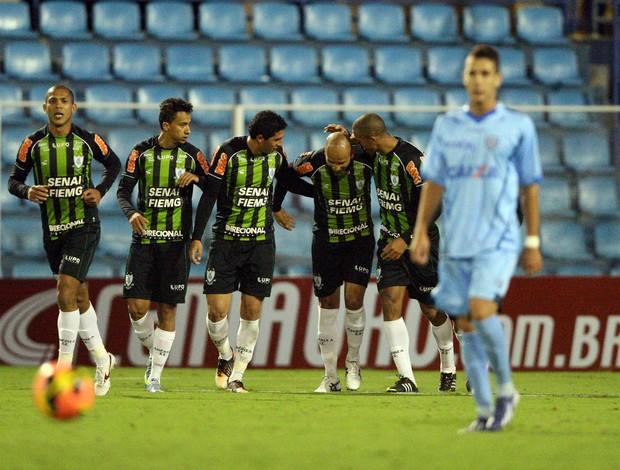 América-MG vence o Avaí (Foto: Cristiano Andujar/ Vipcomm)