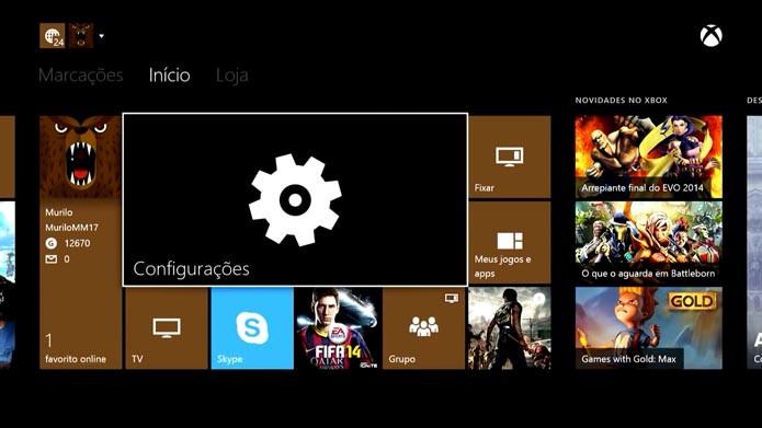 Xbox One: como configurar a integração entre o console e a TV (Foto: Reprodução/Murilo Molina)