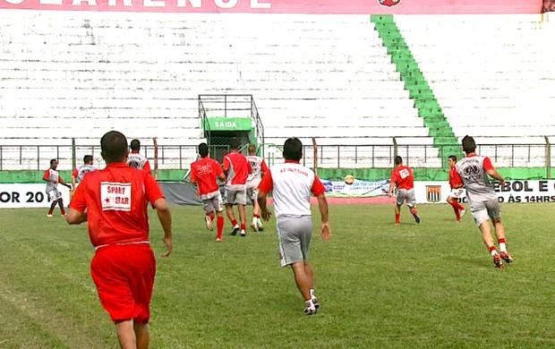 Treino Velo Clube (Foto: Adriano Ferreira/ EPTV)