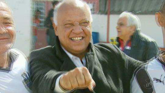 """Reinaldo é apresentado com festa no Tricordiano e diz: """"Dá pra gente fazer um grande trabalho"""""""
