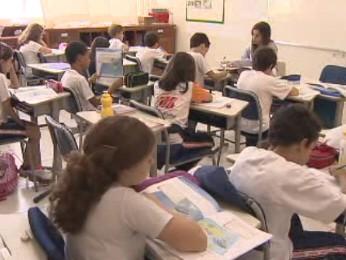 reajuste rematrícula escolas particulares (Foto: Reprodução/TV Vanguarda)