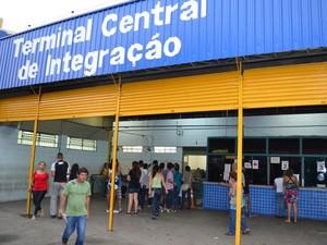 Transporte coletivo de Piracicaba (Foto: Leandro Cardoso/G1)