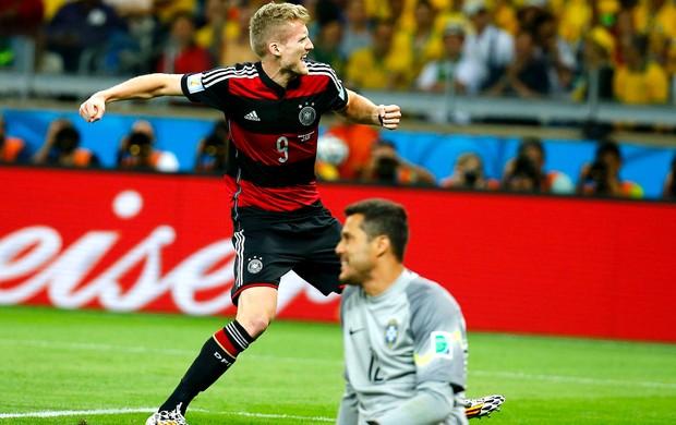 Andre Schuerrle gol Alemanha jogo Brasil (Foto: Reuters)