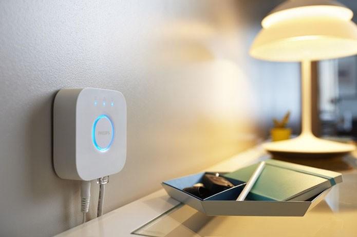 HomeKit da Apple é compatível com o Hue Bridge 2.0, lançado nos EUA por US$ 60 (Foto: Divulgação) (Foto: HomeKit da Apple é compatível com o Hue Bridge 2.0, lançado nos EUA por US$ 60 (Foto: Divulgação))