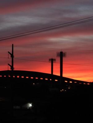 Estádio Albertão (Foto: Renan Morais/GLOBOESPORTE.COM)