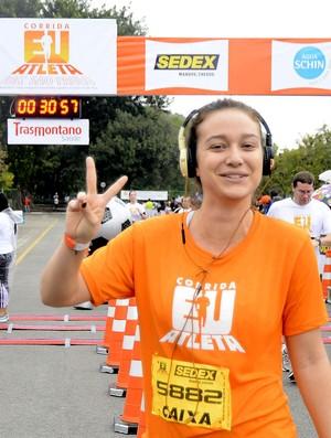 Maria Pinna completa a Corrida Eu Atleta em São Paulo (Foto: Mauro Horita)