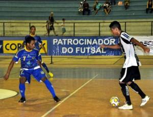 Treze empata e se mantém na 2ª colocação da Taça Brasil de Futsal