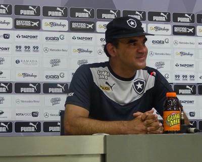 Ricardo Gomes Botafogo (Foto: Jessica Mello / GloboEsporte.com)
