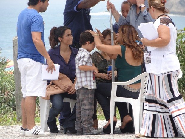 A atriz faz a avó do menino na trama (Foto: Salve Jorge/TV Globo)