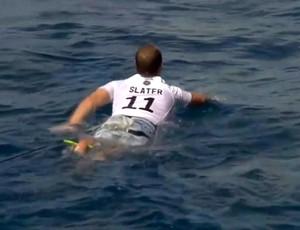 CJ Hobgood surfe camisa slater (Foto: WSL)