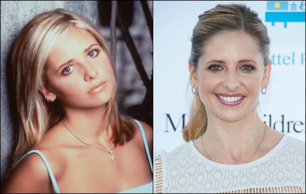 Nos nossos corações, Sarah Michelle Gellar será sempre 'Buffy: A Caça-Vampiros' (1997–2003). Na segunda temporada da série, ela tinha 21 anos de idade. Hoje tem 37. (Foto: Getty Images)
