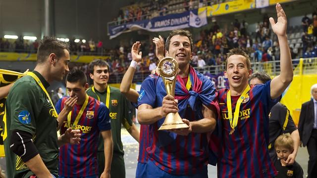 Barcelona futsal (Foto  Divulgação Barcelona) 36ec0a684e758