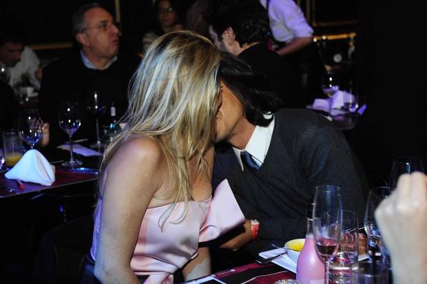 André Gonçalves e Danielle Winits em evento em São Paulo (Foto: Samuel Chaves/ Brazil News)
