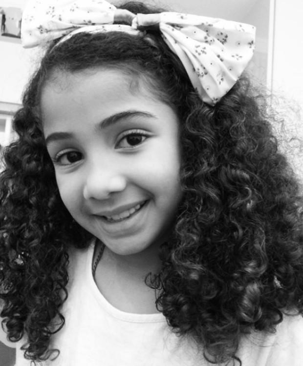Lara, filha de Samara Felippo e Leandrinho Barbosa (Foto: Reprodução/Instagram)