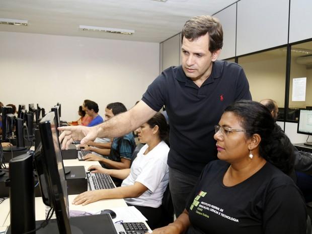 IFG oferece cursos profissionalizantes para jovens e adultos em Goiás (Foto: Divulgação/IFG)