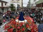 Romaria reúne 60 mil fiéis em Campos Novos, no Oeste catarinense