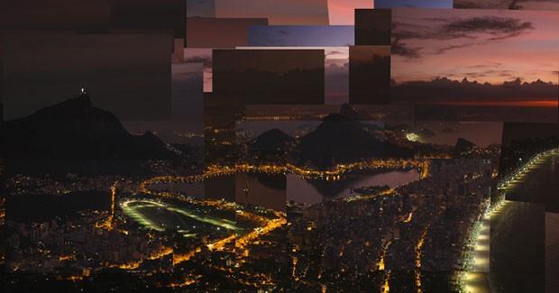 'Alvorada' mostra o nascer do sol do alto da Pedra da Gávea (Foto: Marcello Cavalcanti / Divulgação)