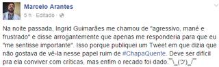 Marcelo Arantes (Foto: Reprodução/ Facebook)