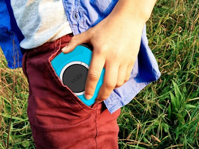 Graças a sua portabilidade é possível transporta-la sem ocupar espaço para qualquer lugar. (Foto: Divulgação/HumanEye)