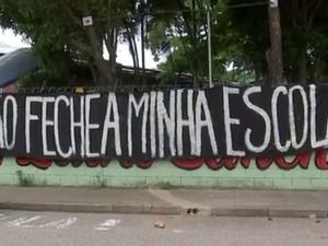 Estudantes ocupam escolas em Sorocaba (Foto: Reprodução/TV TEM)