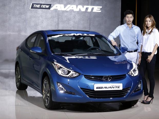 Hyundai Elantra (Foto: Lee Jae-Won/Reuters)