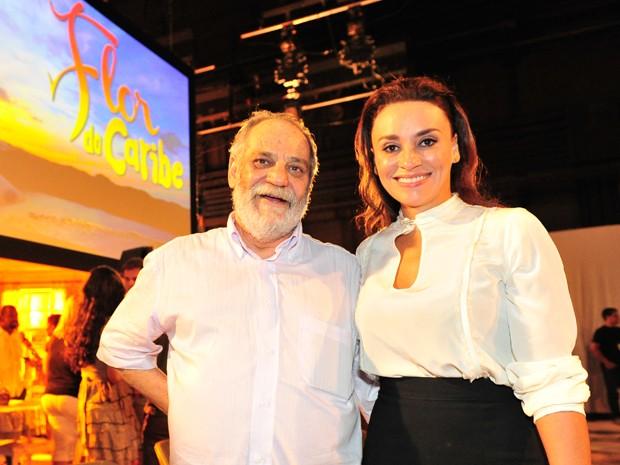 Suzana Pires encara escrever sua primeira novela ao lado de Walther Negrão (Foto: TV Globo/Renato Rocha Miranda)