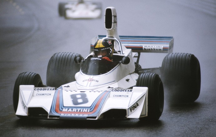 Carlos Pace, Monaco 1975 (Foto: Getty Images)