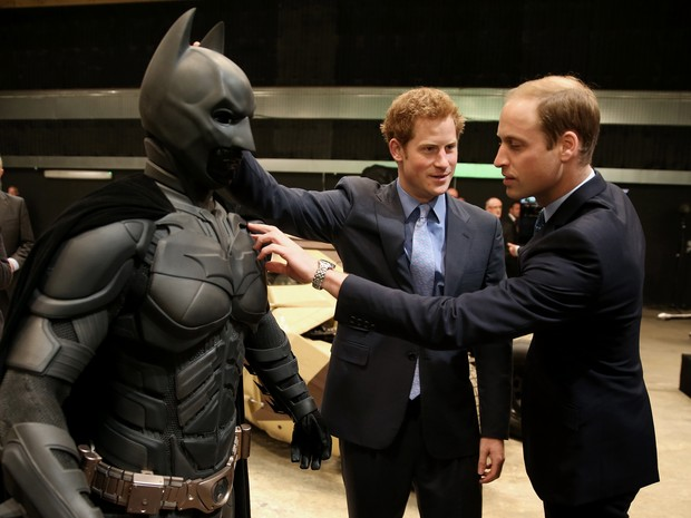 Principe Harry e Principe William (Foto: AFP / Agência)