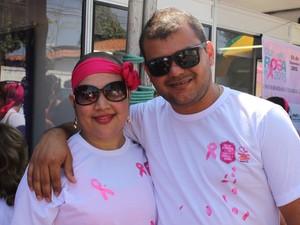 Casal relata que união fez a diferença na luta contra o câncer (Foto: Gustavo Almeida/G1)