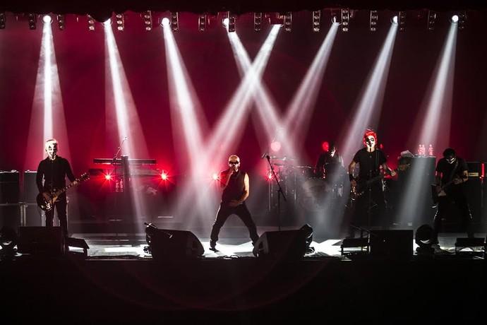 O grupo de rock Titãs (Foto: Silmara Ciuffa)