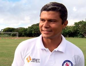Emerson Pereira, técnico do Jacuipense (Foto: Imagens/TV Bahia)
