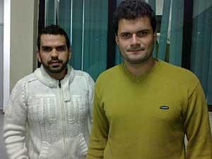 Fagner Fernando Ribeiro e Arthur Lamy defendem a instituição do 'dia do selinho'. (Foto: G1)