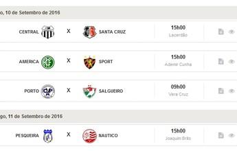 Confira as partidas da quinta rodada Campeonato Pernambucano sub-20