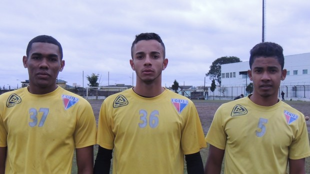 Novos jogadores Ecus (Foto: Thiago Fidelix)
