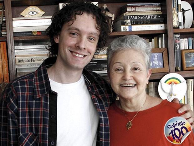 Vincent Villari e Maria Adelaide reservam grandes surpresas para Sangue Bom (Foto: Sangue Bom / TV Globo)