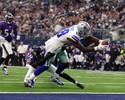 Ninguém segura! Cowboys batem os Ravens e chegam à 9ª vitória seguida
