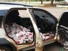 Polícia apreende em Andradina maços de cigarros contrabandeados