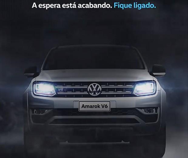 Volkswagen anuncia a chegada da nova Amarok V6 (Foto: Reprodução)