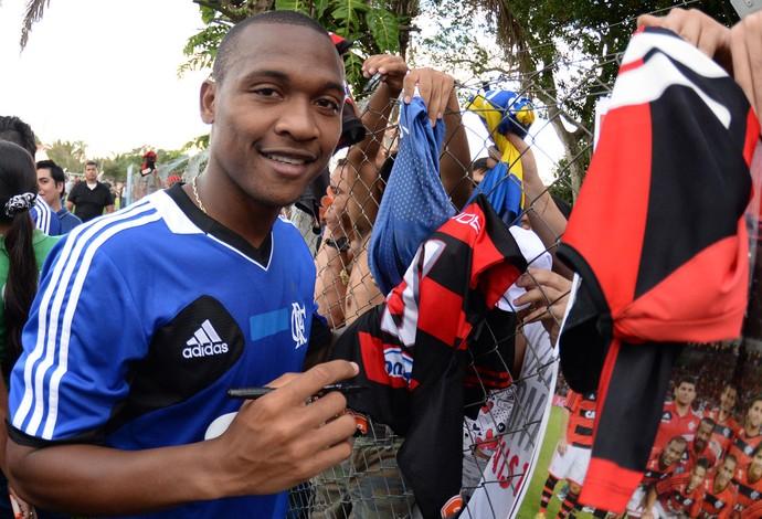 Samir treino Flamengo (Foto: Alexandre Vidal/Fla Imagem)