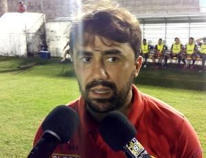 Globo FC - Luizinho Lopes, técnico (Foto: Jocaff Souza/GloboEsporte.com)