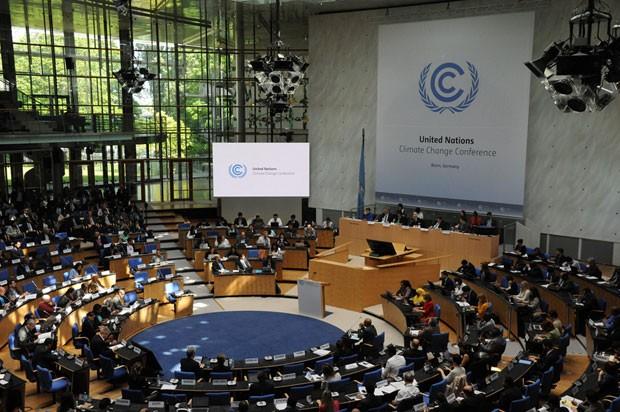 Negociadores devem terminar nesta quinta-feira (11) a reunião na Alemanha em preparação para a conferência do clima de Paris, de onde deve sair um novo acordo para conter os efeitos da Mudança Climática (Foto: Divulgação/UNFCCC)