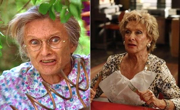 E, é claro, não podia faltar Cloris Leachman, que interpretou Granny (Foto: Divulgação / Reprodução)