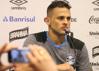 Bobô, atacante do Grêmio (Foto: Diego Guichard)